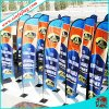 Bandiere poco costose all'ingrosso di pubblicità esterna, bandierine della bandiera di volo della spiaggia