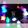 星が付いているPVCケーブルのクリスマスストリングライト