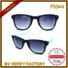 Lunettes de soleil de plastique de nouveauté de trame de Glasses& de conception