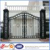 Cancello di giardino su ordinazione del metallo del getto bello