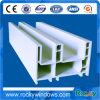 Пластичный профиль PVC, профиль UPVC для окна Casement PVC и дверь