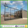 Portas do metal/painéis cerca do jardim/barato painéis da cerca