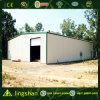 Almacén con marco de acero de la hoja de acero de la construcción (LS-SS-040)