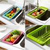 Support de séchage de stockage, panier de légume fruit, panier en plastique