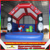 Gorila inflable vendedora caliente del PVC/casa inflable de la despedida/castillo animoso