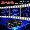 Blauer Laser Light Animation mit Sound Control