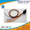 1 chicote de fios impermeável do fio do conetor do automóvel do Pin