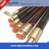Flexibler hydraulischer Hochdruckgummischlauch SAE-100r2, industrieller Schlauch
