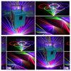 5Wフルカラーのアニメーションの段階かクラブまたはダンスのレーザー光線