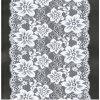 Cord ricamato Lace Fabric per Bridal Gown con Beaded