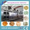 Dwt-kontinuierlicher Luftstrom entwässerte Gemüseineinander greifen-Riemen-Trockner-Maschine