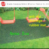 Циновка травы дренажа резиновый/резиновый рогожка циновки/автомобиля травы