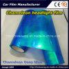 Il vinile chiaro della tinta del faro dell'automobile del Chameleon dell'autoadesivo del vinile filma la pellicola della lampada dell'automobile