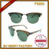 Vidros de Sun novos do estilo de Clubmaster dos óculos de sol da chegada F6880