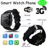 GPSおよび心拍数のモニタ(K22)が付いている3Gスマートな腕時計