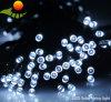 8 luzes solares da corda do Natal decorativo do banquete de casamento das cores