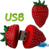 GroßhandelsFull Capacity 8GB Strawberry USB Memory Flash Pen Drive Gift