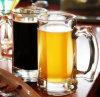 tazza della birra di vetro bevente 345ml con la maniglia