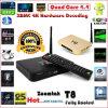 2015 de Heetste T8 Doos van TV van Amlogic S802 Androïde 4.4 Internet