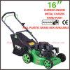 EPA/GS/EMC/CE Main-Pushed Gasoline Lawn Mower (XYM158-1C) de 3.5HP Approved 123cc 16