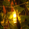 Luz morna do grampo do diodo emissor de luz do USB do branco do preço de fábrica para a decoração ao ar livre