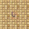 金ホイルの水晶組合せの金属のモザイク(CFM700)