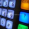 Plastiklichtdurchlässiges Gummisilikon Backlit Tastaturblock