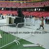 Barreira usada do controle de multidão do concerto