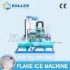 Creatore di ghiaccio raffreddato ad acqua del fiocco di Koller 5000kg/Day con il regolatore del PLC