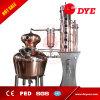 el alcohol eléctrico del crisol 200L calma a destilador de cobre de la ginebra del ron del whisky de la vodka del equipo de la destilación