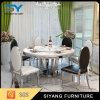 Mesa redonda de mármore ajustada de venda quente do quarto de Rining grande