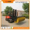 Acessório conduzido hidráulico da vassoura da vassoura do ângulo do acessório do Forklift para o Forklift