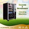 Distributore automatico di piccola dimensione della barra di caramella e della bevanda con il ricettore della moneta