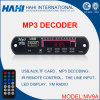 Placa decodificador Bluetooth MP3 para cartão USB TF 12V com controlador