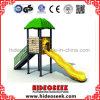 ウェーブスライドと小さい子供プラスチックの屋外の遊び場