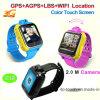 De echte GPS WiFi Pond Drijver van het Horloge van de Jonge geitjes van het Scherm van de Aanraking Slimme met Bidirectionele Mededeling