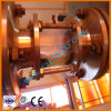 オイルを基づかせる不用な潤滑油の再生の減圧蒸留機械