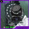 36X12W LED zoom de lavado principal móvil de la luz de DJ