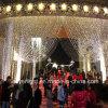 Le glaçon de Noël DEL allume la lumière de rideau pour la décoration