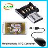 Connettore del USB di OTG e lettore di schede creativi per il telefono Android