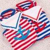 Тельняшка собаки моряка военно-морского флота любимчика с Striped оптовой продажей шарфа