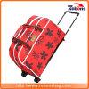 Multifuncional portátil bolso de la carretilla de la carretilla de moda bolsa con diseño de flores