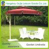 Paraguas rectos plegables promocionales desmontables de los acontecimientos del jardín con insignia