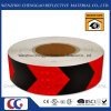 교통 표지 (C3500-AW)를 위한 PVC 빨강과 까만 사려깊은 화살 테이프