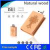 Lecteur flash USB en bois en bois de Pendrive de livre de cadeaux de promotion