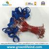 Петля ленты цепи W/Blue продукта безопасности пластичная спиральн красная волшебная