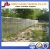 PVC Coated /Galvanzied Temporary Chain Link Fence di 6*6mm