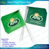 Projetar o dobro tomou o partido as bandeiras da mão do papel de impressão (J-NF01P01030)