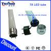 Iluminación barata aprobada del tubo de la buena calidad LED del precio de AC100-240V