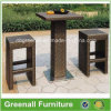 Bar de mimbre Stools para Outdoor Furniture